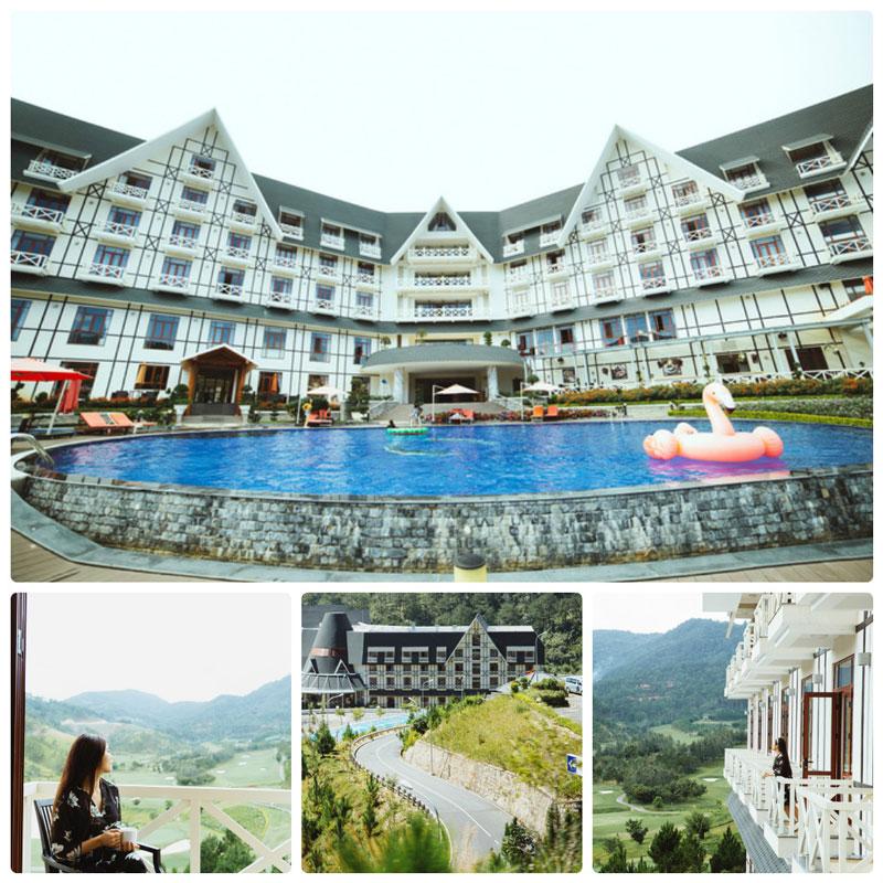 Thuê villa Đà Lạt có hồ bơi