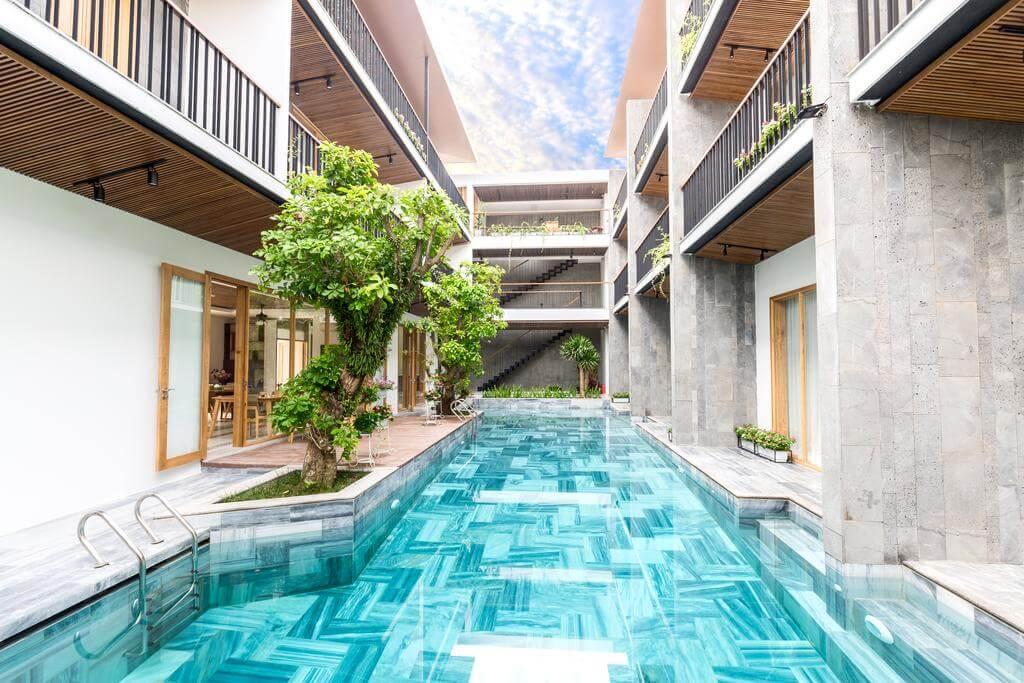 Thuê villa giá rẻ Đà Nẵng gần biển có hồ bơi VIEW đẹp